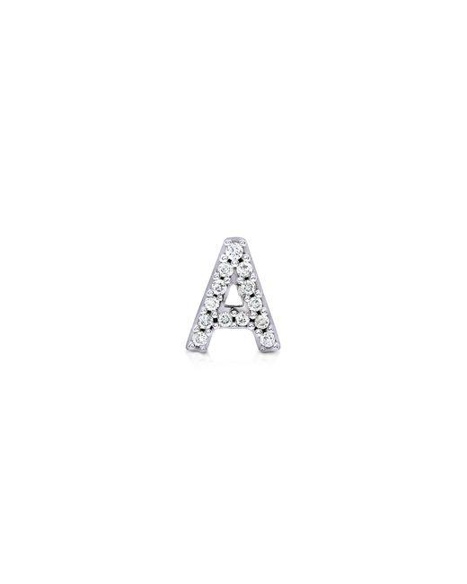 Carbon & Hyde   Metallic Diamond Letter Stud   Lyst