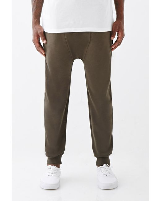 Forever 21 | Natural Paneled Drawstring Sweatpants for Men | Lyst