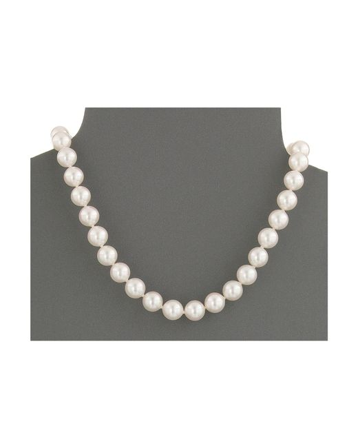 Majorica | White 10mm Pearl Strand Necklace | Lyst