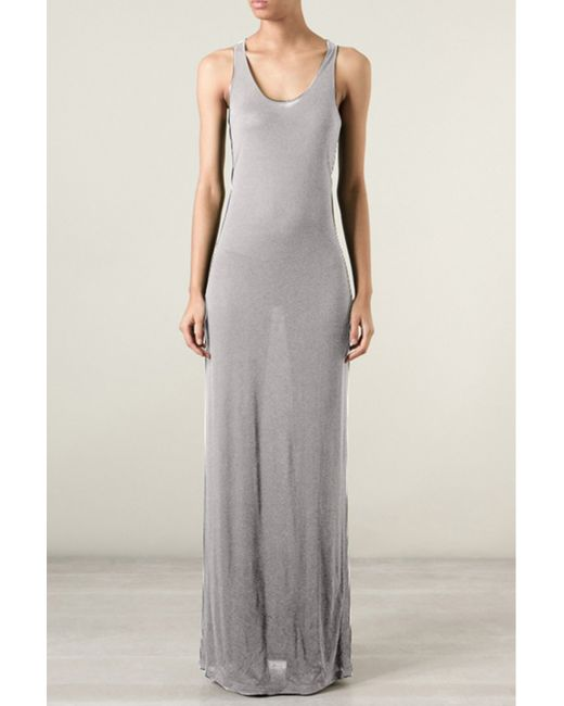 A.F.Vandevorst | Gray Flag Dress | Lyst