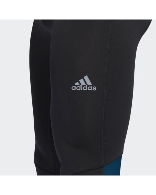 de1105e1be7ea ... Adidas - Black Boston Marathon® Supernova Long Tights for Men - Lyst ...