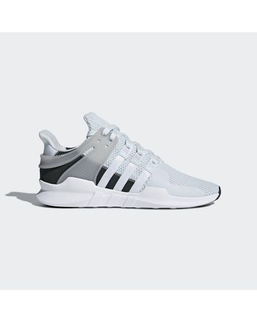 low priced f0f02 d1a67 Adidas - Blue Eqt Support Adv Shoes - Lyst ...