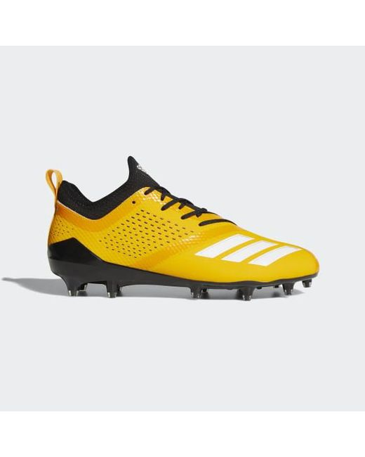 Lyst Adidas Adizero 5 Star 7 0 Cleats In Yellow For Men dbb6d36d52d