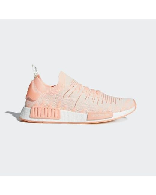 finest selection 604bb 43c51 Adidas - Pink Nmd r1 Stlt Primeknit Shoes - Lyst ...