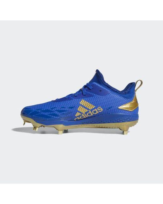 ... Adidas - Blue Adizero Afterburner V Cleats for Men - Lyst ... 9d3b0de2b62