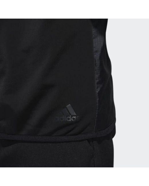 771e4d2cf Lyst - adidas Climaheat Frostguard 1/4 Zip Pullover Shirt in Black ...