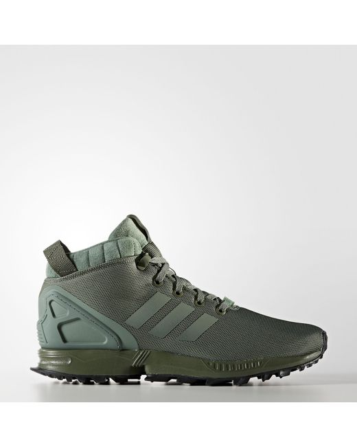 31d7c031a1d43 Adidas - Green Zx Flux 5 8 Tr Shoes for Men - Lyst ...