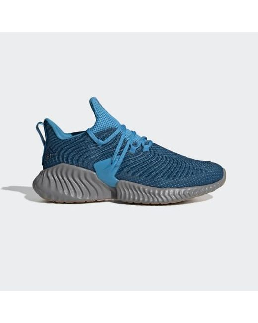 the best attitude 602b2 05d60 Adidas - Blue Alphabounce Instinct Shoes for Men - Lyst ...