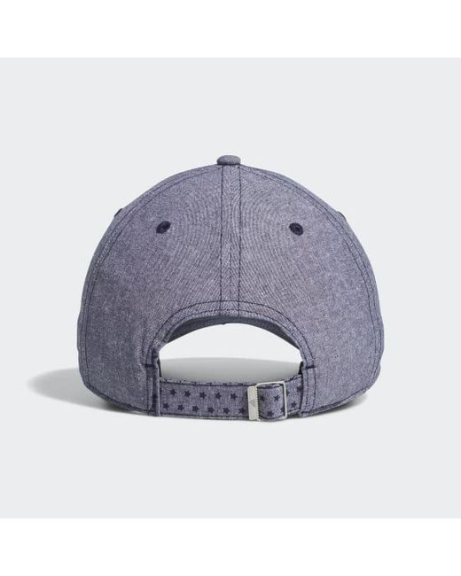 e8230505 ... Adidas - Blue Usa Golf Mully Hat for Men - Lyst ...