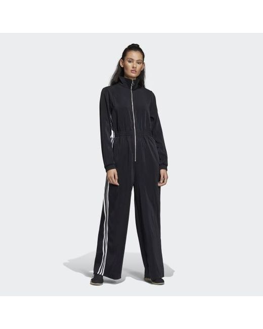 9c83d5827be Adidas - Black Jumpsuit - Lyst ...