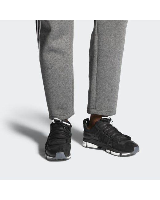 quality design 3121a 6eea0 ... Adidas - Black Twinstrike Adv Stretch Leather Shoes for Men - Lyst ...