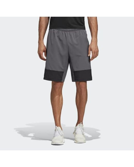 eb5a33ebb7336 Adidas - Gray 4krft Tech 10-inch Elevated Shorts for Men - Lyst ...