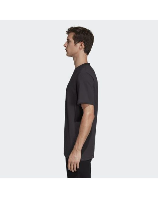 online store 16428 7e35b ... Adidas - Black Camouflage Trefoil Tee for Men - Lyst ...