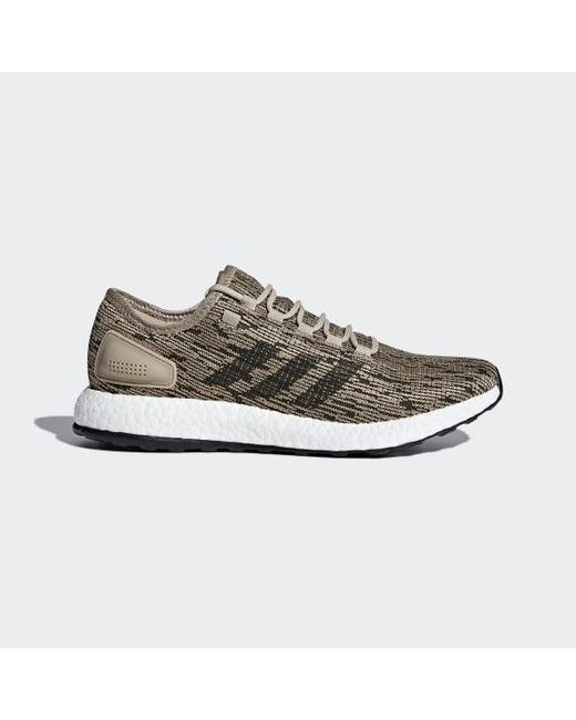 cdf7fc48c Adidas - Brown Pureboost Shoes for Men - Lyst ...