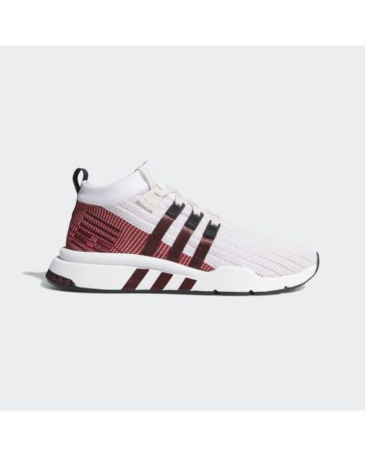 promo code bcac7 f1a19 Adidas - Purple Eqt Support Mid Adv Primeknit Shoes for Men - Lyst ...