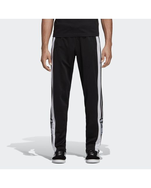 6a5b6d473c8bf Adidas - Black Adibreak Track Pants for Men - Lyst ...