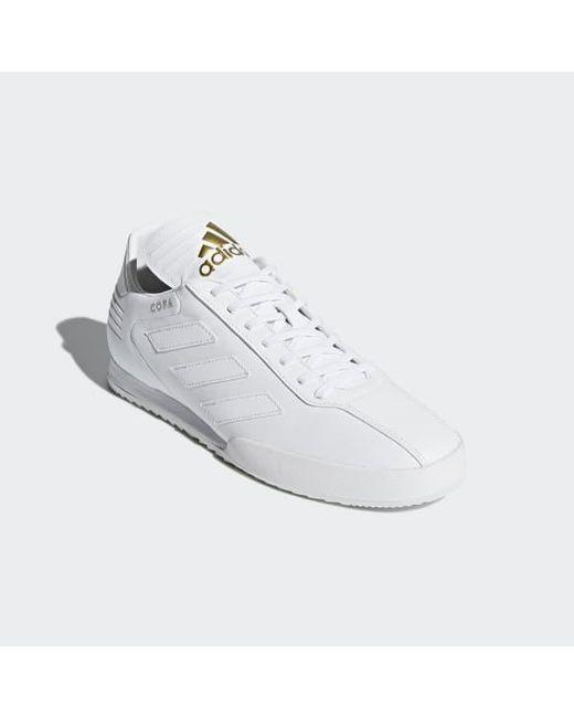 online store da962 fed23 ... Adidas - White Copa Super Shoes for Men - Lyst ...