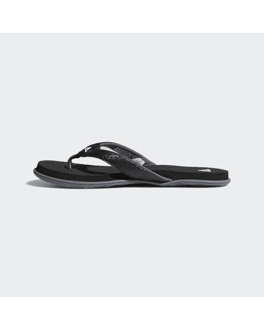 9b22951ba496a Lyst - adidas Cloudfoam One Thong Sandals in Black - Save 3%