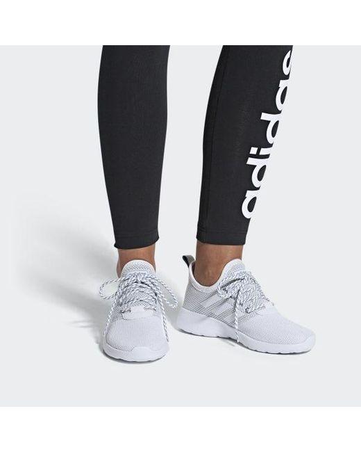 803c9ae218b23 ... Adidas - White Lite Racer Rbn Shoes - Lyst ...