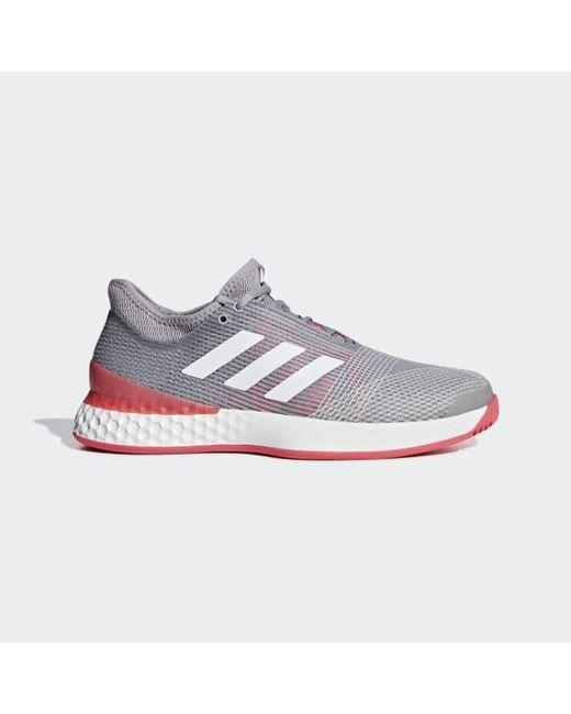 e8304dbd7 Adidas - Gray Adizero Ubersonic 3.0 Shoes for Men - Lyst ...