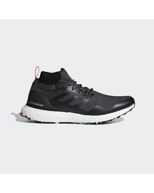 9b7b93ff8d29 Adidas - Black Ultraboost Mid Shoes for Men - Lyst ...