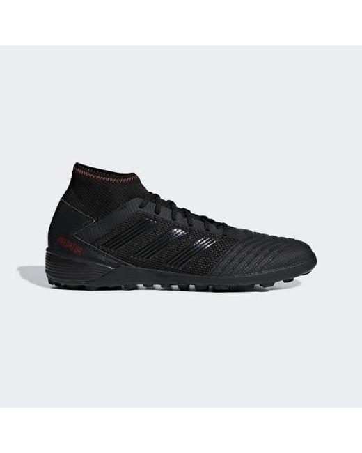new arrival 2b99b 0ff45 Adidas - Black Predator Tango 19.3 Turf Shoes for Men - Lyst ...