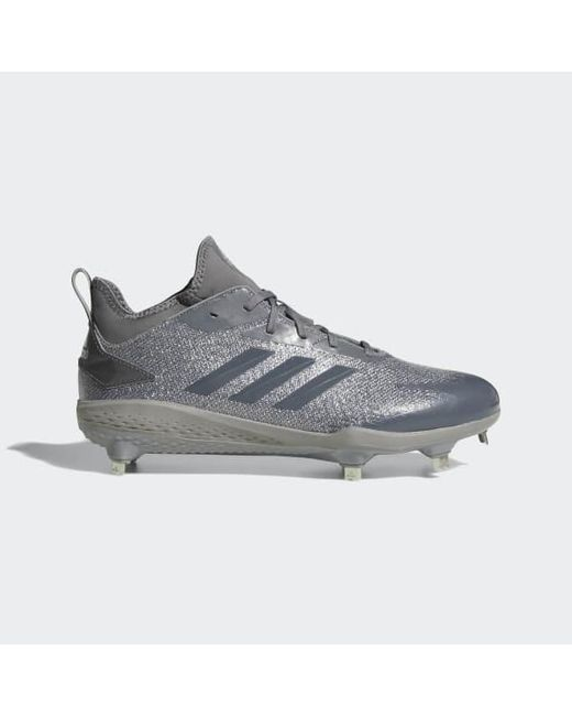 0aea7be7fff Adidas - Gray Adizero Afterburner V Dipped Cleats for Men - Lyst ...