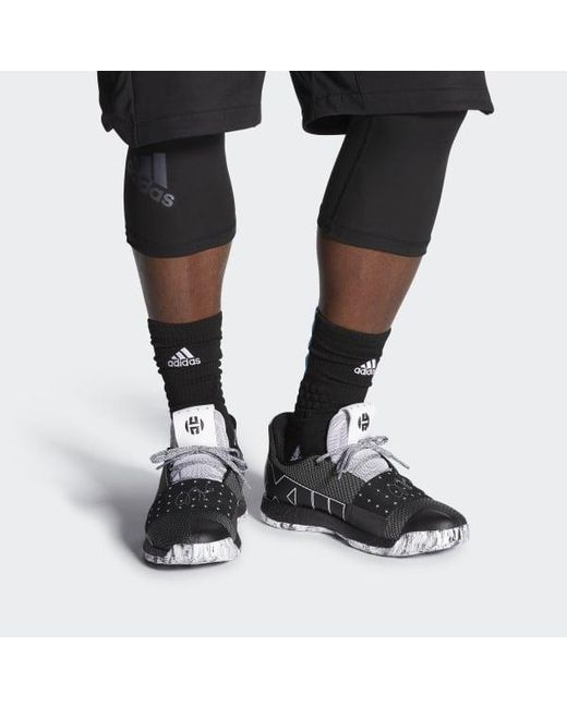 bcc5db696760 Lyst - adidas Harden Vol. 3 Shoes in Black for Men