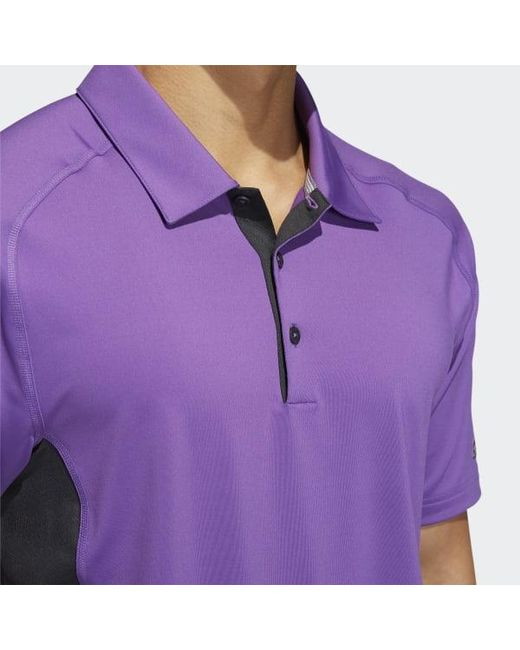 6d8b5962 ... Adidas - Purple Ultimate365 Climacool Hyper Athletic Polo Shirt for Men  - Lyst ...