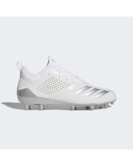 buy popular 755b9 5a6d8 Adidas - White Adizero 5-star 7.0 Lax Low Cleats for Men - Lyst ...