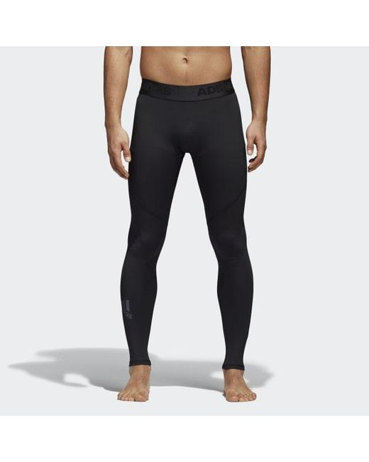 Lyst - adidas Alphaskin Sport Tights in Black for Men - Save 22% 0545324f75b