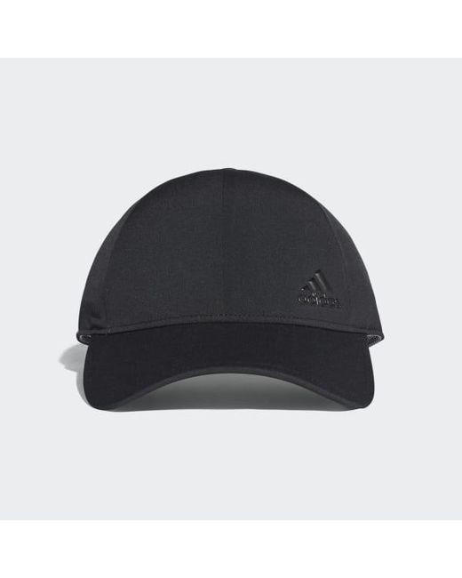 Adidas - Black Bonded Hat - Lyst ... cad16acbd64b