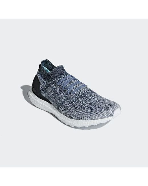 detailed look 8487e befe2 ... Adidas - Blue Ultraboost Uncaged Parley Shoes - Lyst ...