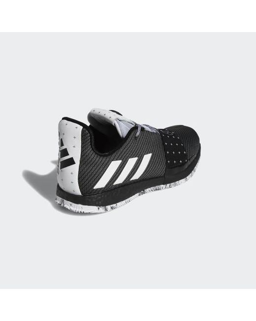 buy popular 26262 7d34a 3 Shoes for Men - Lyst Adidas - Black Harden Vol.