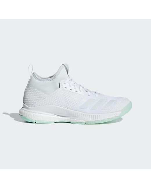 newest e5aa9 59236 Adidas - White Crazyflight X 2.0 Mid Shoes - Lyst ...