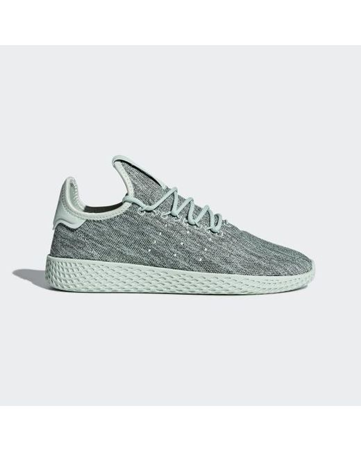 ea76077ec2099 Adidas - Green Pharrell Williams Tennis Hu Shoes for Men - Lyst ...