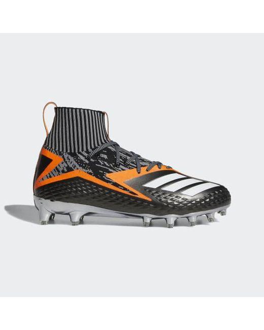 lyst adidas mostro ultra primeknit scarpette in nero per gli uomini.