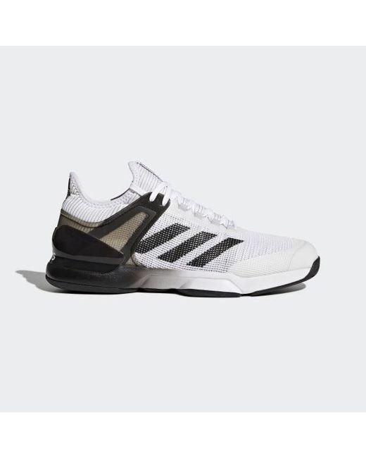 86595a622 Adidas - White Adizero Ubersonic 2.0 Shoes for Men - Lyst ...