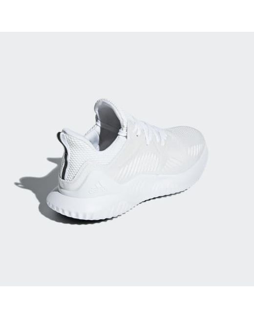 premium selection b3579 f1554 ... Adidas - White Alphabounce Beyond Shoes for Men - Lyst ...