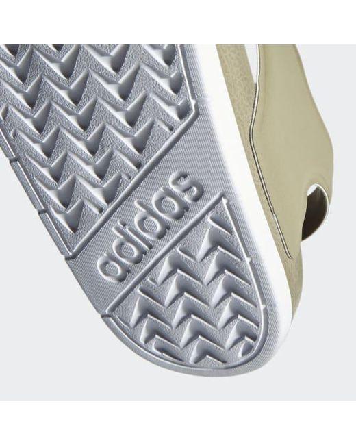 137c19d87e5ea ... Adidas - Gray Adilette Sandals for Men - Lyst