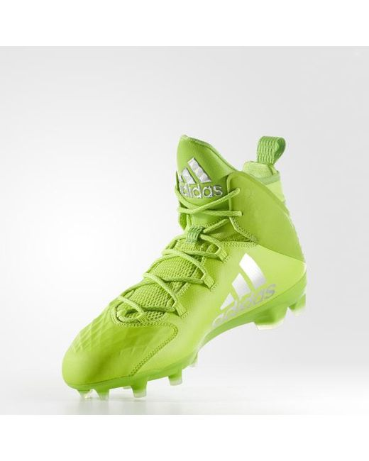 online retailer 35a6c 3f86d ... Adidas - Green Freak Lax Mid Cleats for Men - Lyst ...