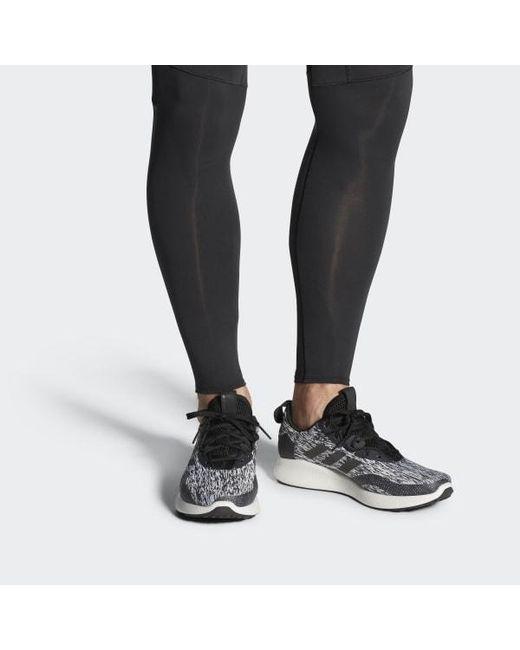 0d74421aff30f ... Adidas - Black Purebounce+ Street Shoes for Men - Lyst ...