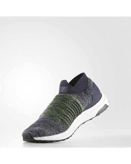 ad7c2ad635fe3 ... Adidas - Blue Ultraboost Laceless Shoes for Men - Lyst ...