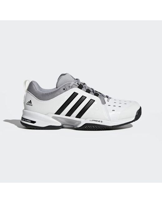 sports shoes 68c8d b6af0 Adidas - White Barricade Classic Wide 4e Shoes for Men - Lyst ...