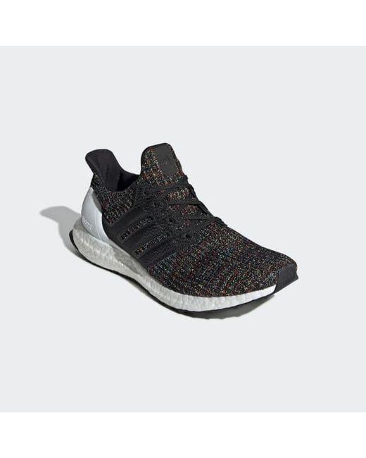 best website 57f8d c8e05 ... Adidas - Black Ultraboost Shoes for Men - Lyst ...