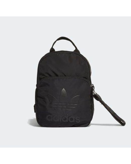 43de8cb12072 Adidas - Black Classic Mini Backpack - Lyst ...