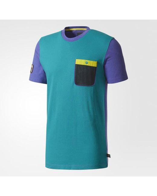 2cd1ed7f75f66 ... Adidas - Purple Pharrell Williams Hu Hiking Tee for Men - Lyst ...