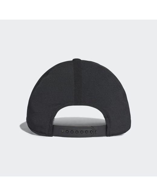 ... Adidas - Black Bonded Hat - Lyst ... eb74c830d429
