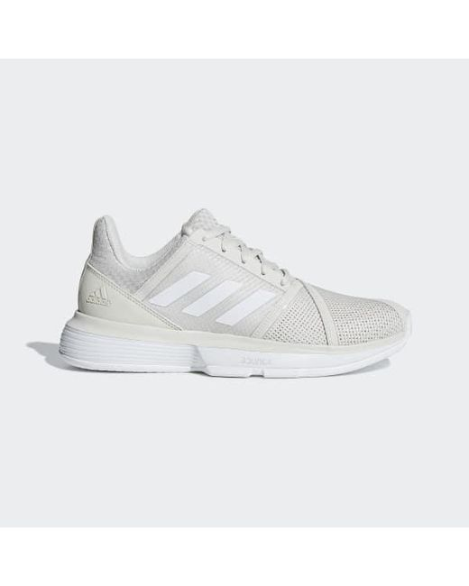 de88ad25d1cdc Adidas - White Courtjam Bounce Shoes for Men - Lyst ...