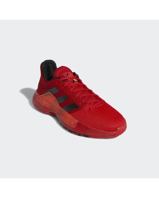 c41a94139ea9 ... Adidas - Red Pro Bounce Madness Low 2019 Shoes for Men - Lyst ...